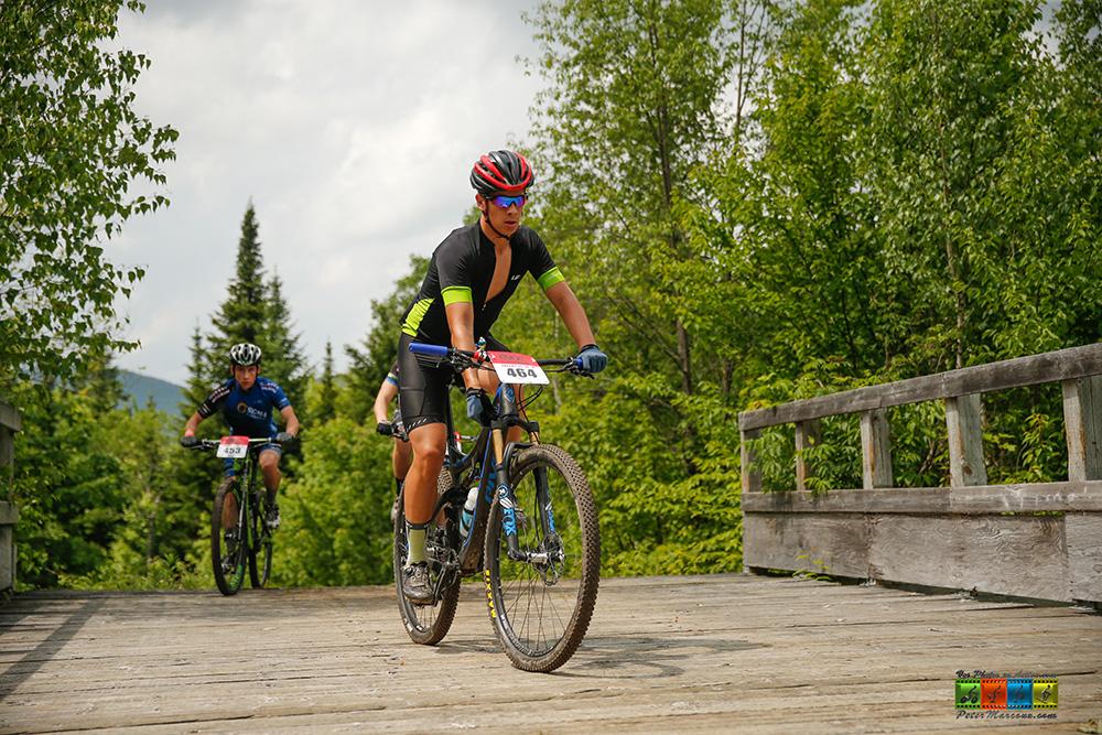 Le Beauceron Eliot Grondin remporte une médaille de bronze en vélo de montagne