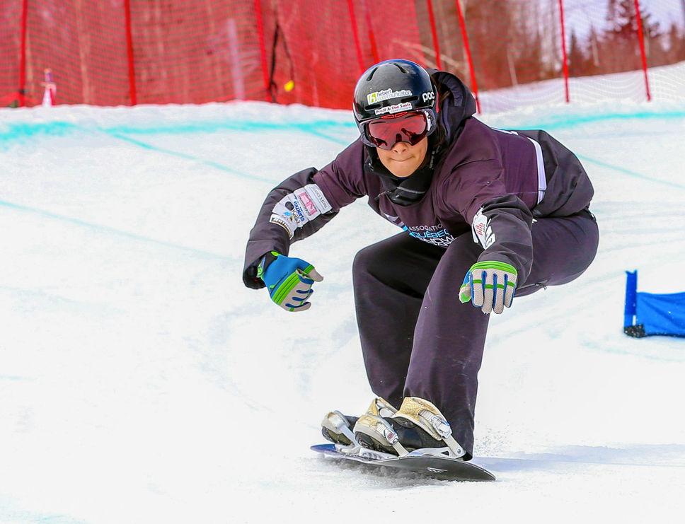 Snowboardcross : Éliot Grondin invité en Coupe du monde