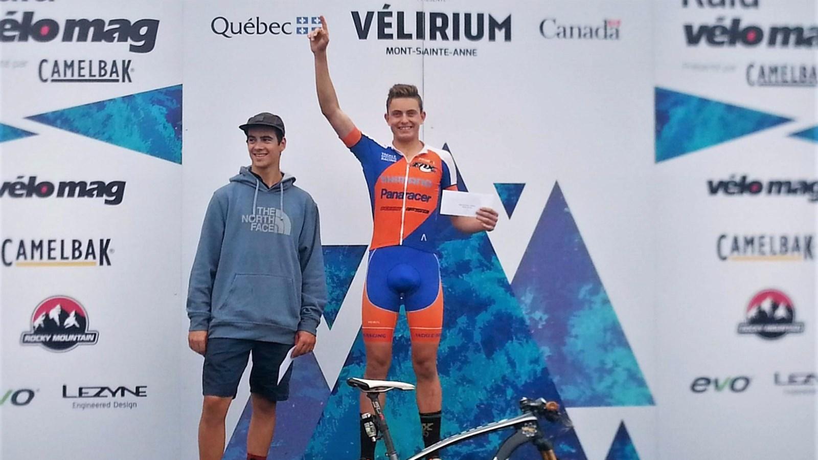 Médaille d'argent pour le Beauceron Éliot Grondin au Raid Vélo Mag