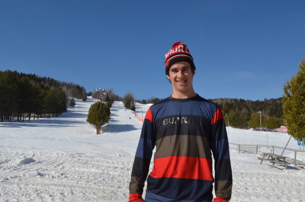 Éliot Grondin revient des Olympiques plein de souvenirs