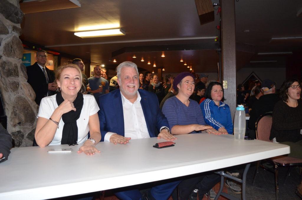 Olympiques : une belle soirée pour Éliot Grondin et sa famille