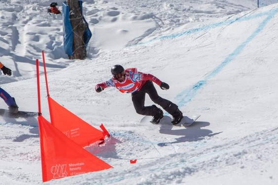 Snowboarder Éliot Grondin chasing World Cup and world junior titles