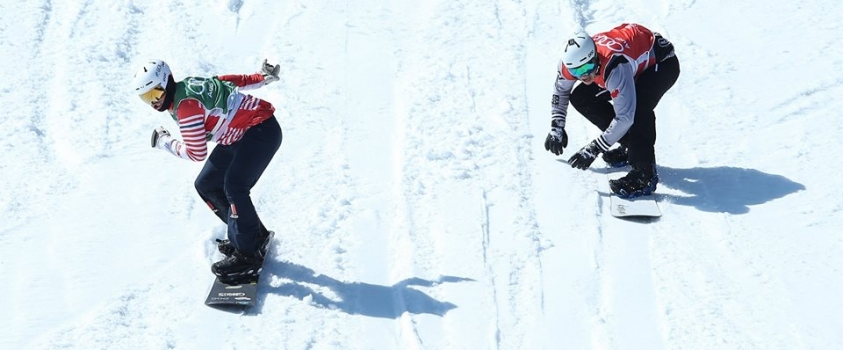 Eliot Grondin scores 1st career World Cup snowboard cross medal