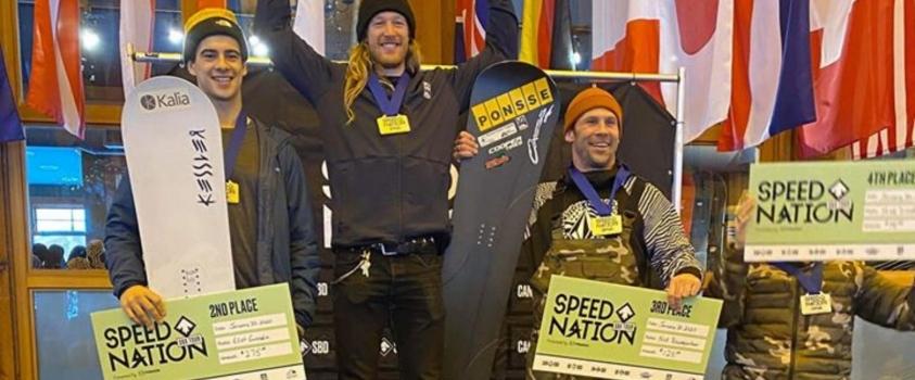 Course Noram : Éliot Grondin termine deuxième pour sa première course