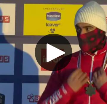 Médaillé de bronze des mondiaux, Éliot Grondin vit un rêve