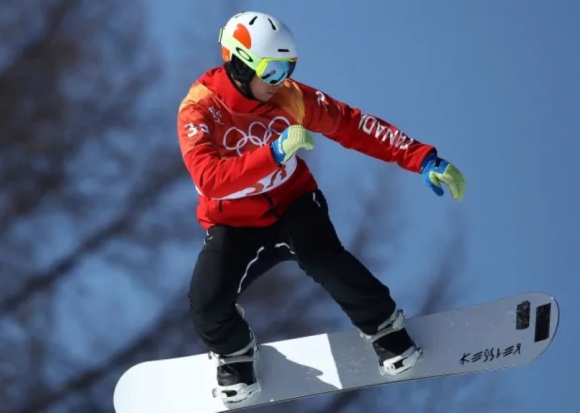 Canada's Eliot Grondin wins World Cup snowboard cross gold